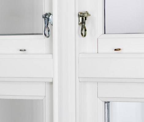 Fjordglas vindauge / vindu med gamal profil