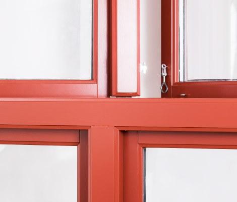 Fjordglas vindauge / vindu med klassisk profil