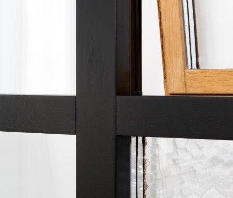 Fjordglas vindauge / vindu med moderne profil